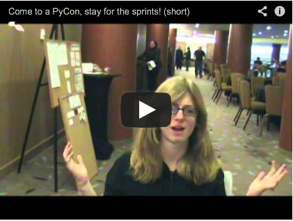 Come for PyCon, stay for the sprints!