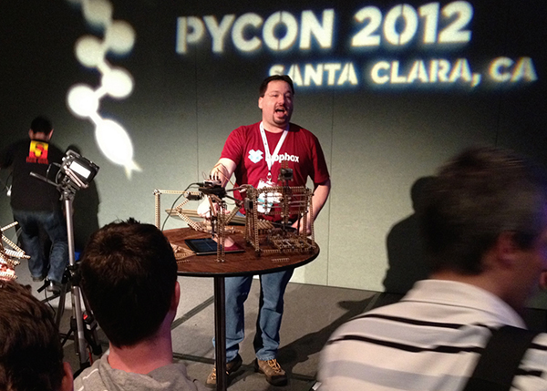 speaker at PyCon 2012
