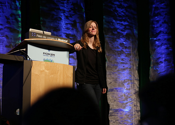 speaker at PyCon 2014