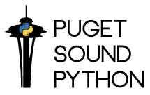 Logo of PuPPy -- Seattle's Python user group